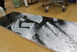 WER-G2513UV ठूलो ढाँचा यूवी मुद्रक द्वारा मुद्रित बिलबोर्ड