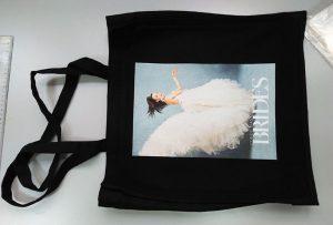 यूके ग्राहकको कालो नमूना बैग मुद्रण गरिएको डीटीजी कपिल प्रिन्टर द्वारा मुद्रित गरिएको थियो