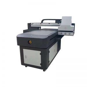 CE स्वीकृत कारखाना सस्तो मूल्य डिजिटल टी शर्ट प्रिंटर, यू-डिजिटल मुद्रण मिसिन टी-शर्ट मुद्रण को लागि WER-ED6090UV