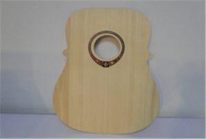 A2 आकार यू प्रिन्टर WER-DD4290UV बाट काठ गिटार नमूना