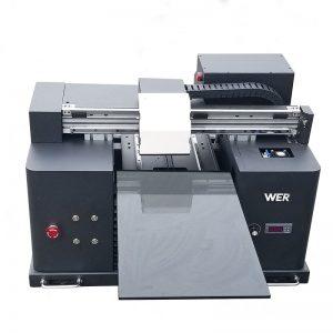 सेतो र रङ स्याही एकैचोटि प्रिन्ट गर्न छिटो डेस्कटप डिजिटल ढाँचा छाप्नुहोस् DTG टी-शर्ट tshirt प्रिन्टर मुद्रण मिसिन WER-E1080T